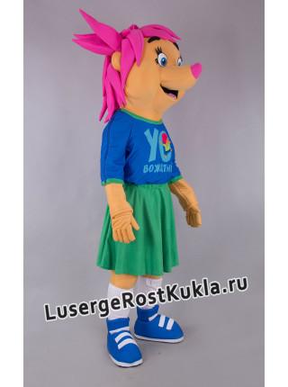 """Ростовая кукла """"Еж вожатая"""""""