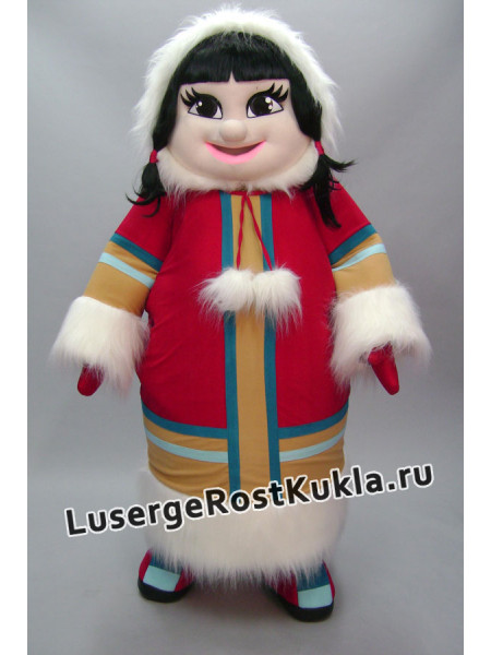 """Ростовая кукла  """"Девочка эскимоска"""""""