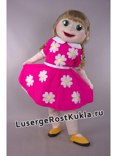 """Ростовая кукла """"Девочка Катюша"""" со съемной одеждой"""