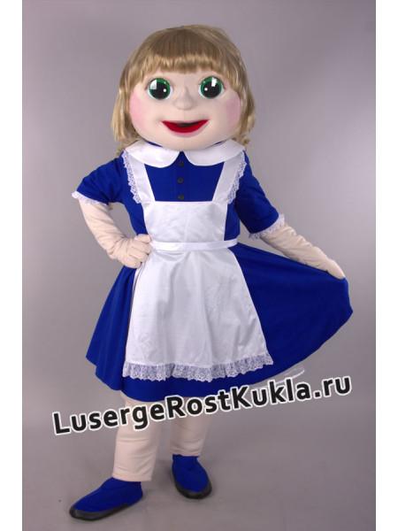 "Ростовая кукла "" Катюша школьница"" съемная одежда"