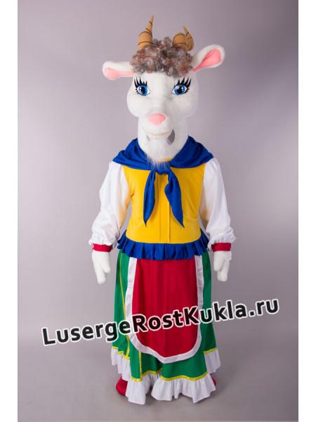 """Ростовая кукла """"Коза Дереза"""" (белая)"""