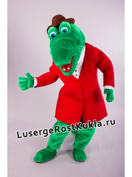 """Ростовая кукла """"Крокодил Гена"""""""