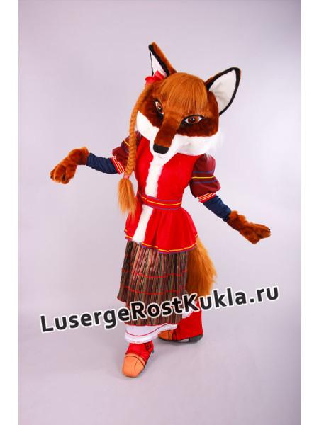 """Ростовая кукла """"Лиса народная"""""""