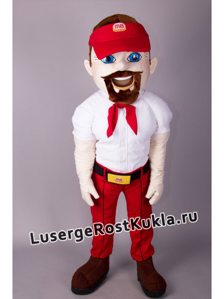 "Ростовая кукла  "" Мастер Бургер"""