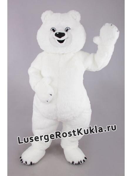"""Ростовая кукла """"Медведь белый олимпийский"""""""